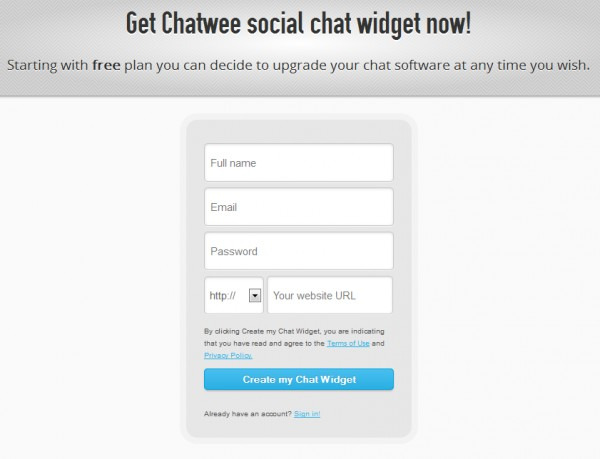 Live Chat Code Html