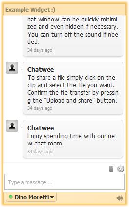 Chatbox Widget