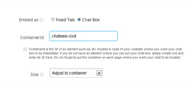 chat-box-setup