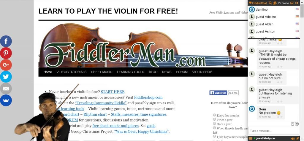 FiddlerMan