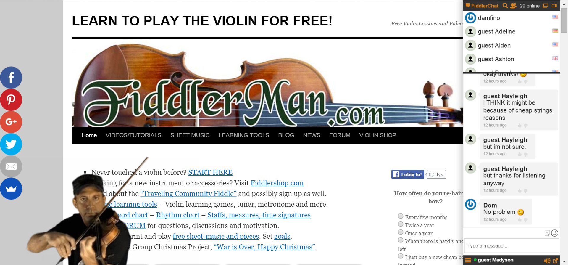 live chat playing first fiddle in community growth a case study