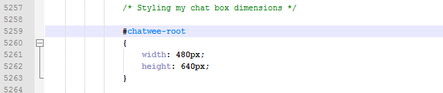 add-chat-box-adjust-css