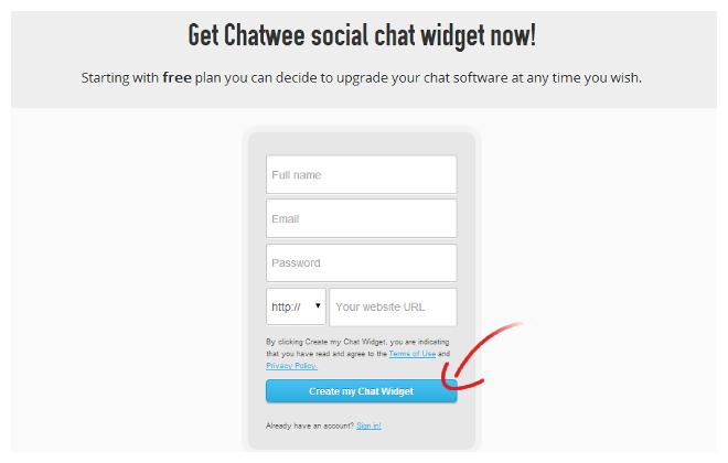 Register chat