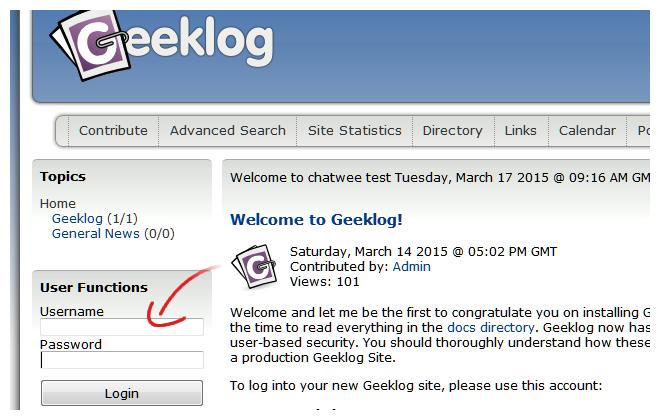 Geeklok Login