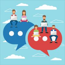 Benefits of live chat for forums